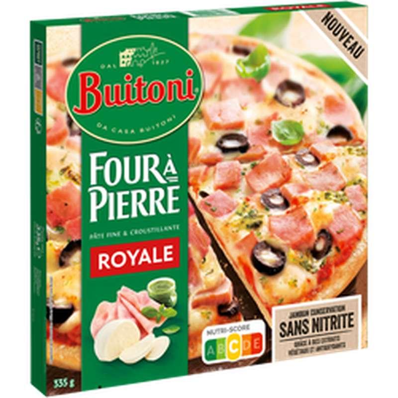 Four à Pierre Pizza Royale, Buitoni (335g)