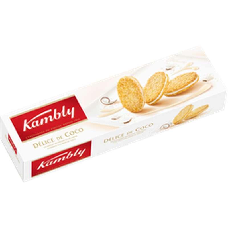 Biscuit Suisses Délices de coco, Kambly (80 g)