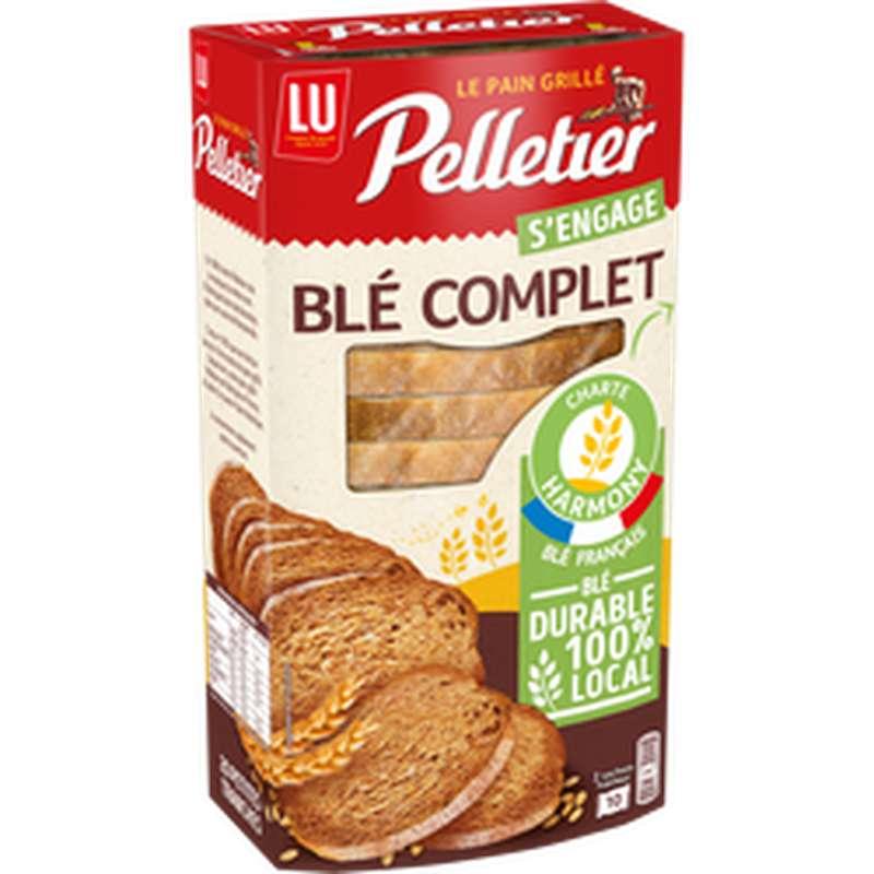 Pain grillé au blé complet, Pelletier (240 g)