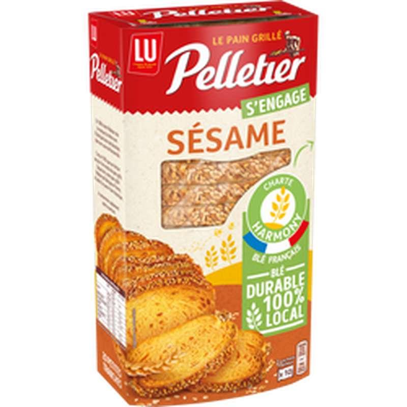 Pain grillé au sésame, Pelletier (240 g)