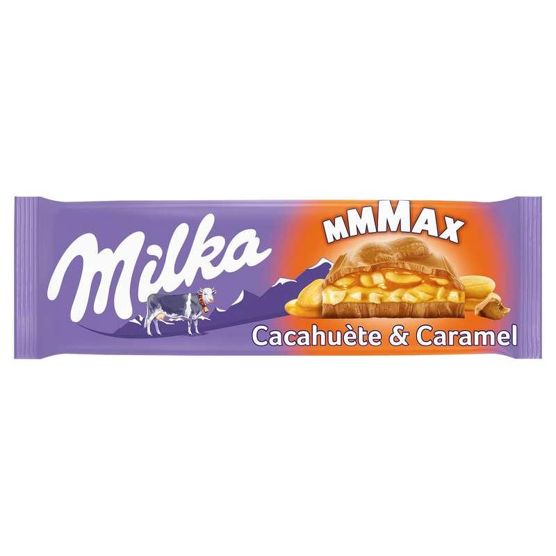 Chocolat cacahuètes & caramel, Milka (276 g)