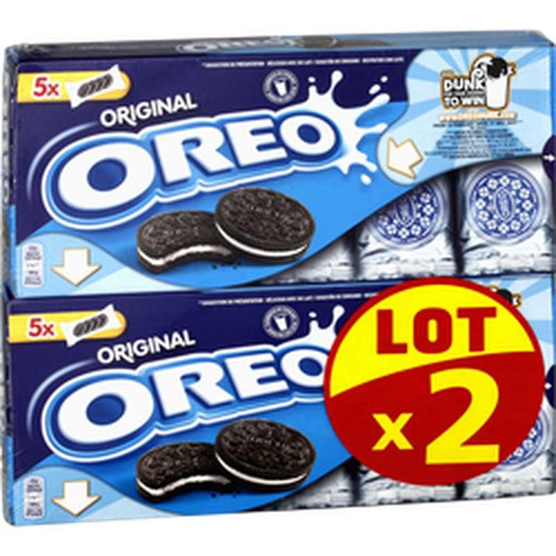Biscuits Oréo Original LOT DE 2 (2 x 220 g)