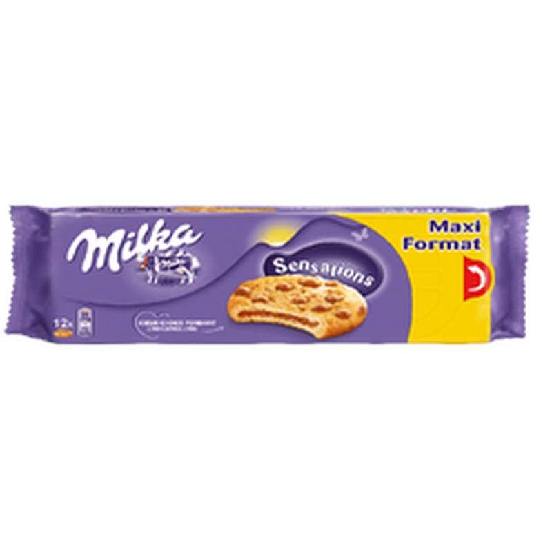 Biscuits coeur choco fondant sensation, Milka (312 g)