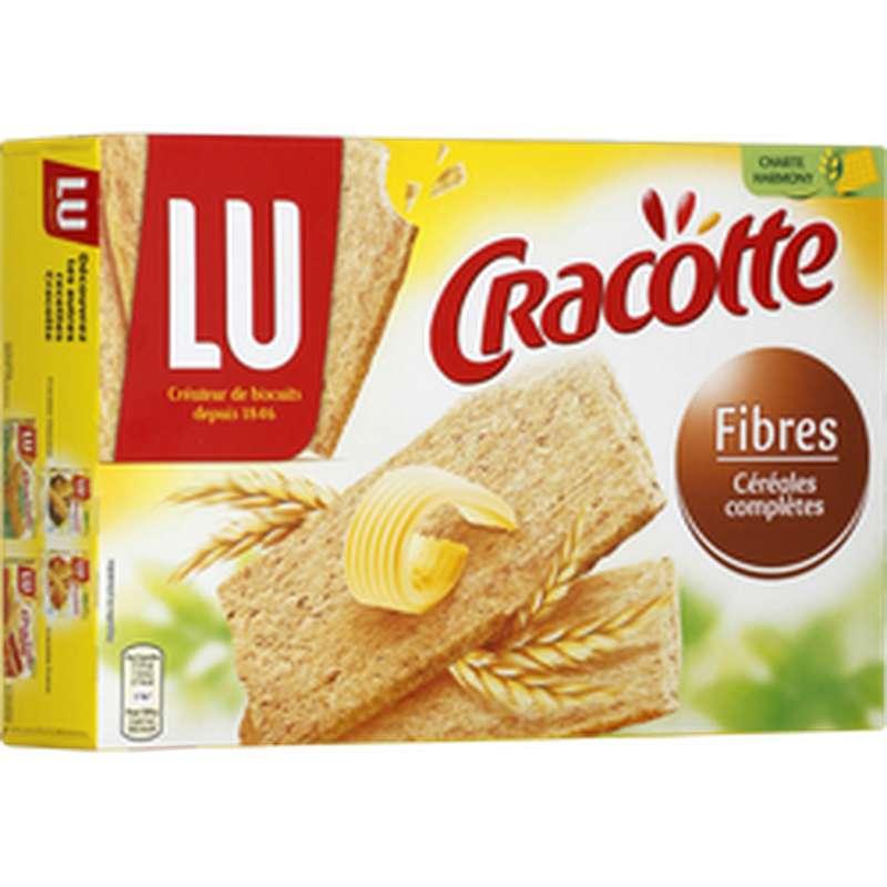 Cracotte aux fibres et céréales complètes, Lu (250 g)