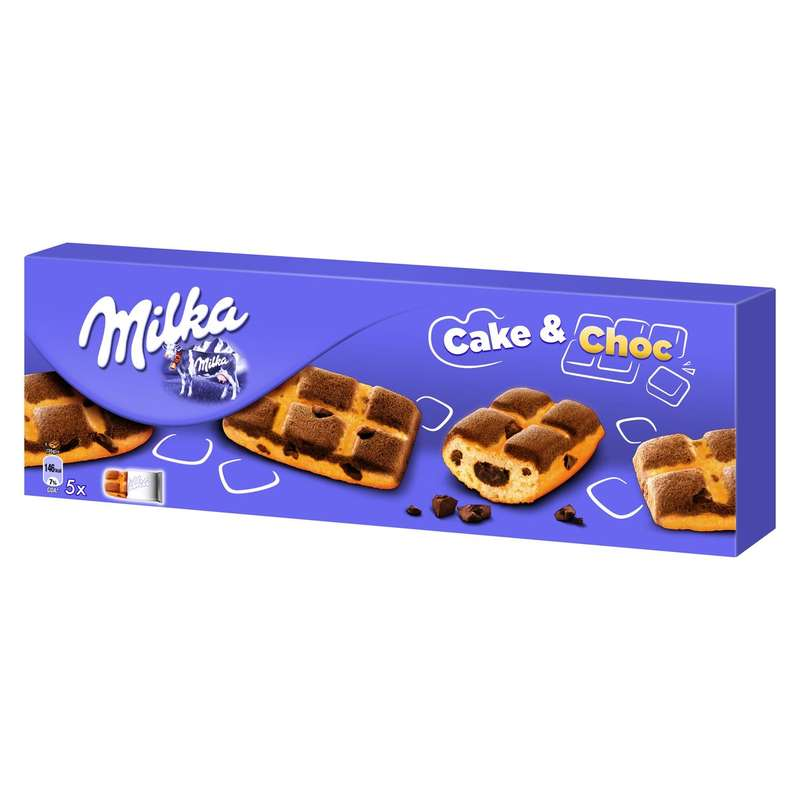 Cake & Choc, Milka (x5, 175 g)