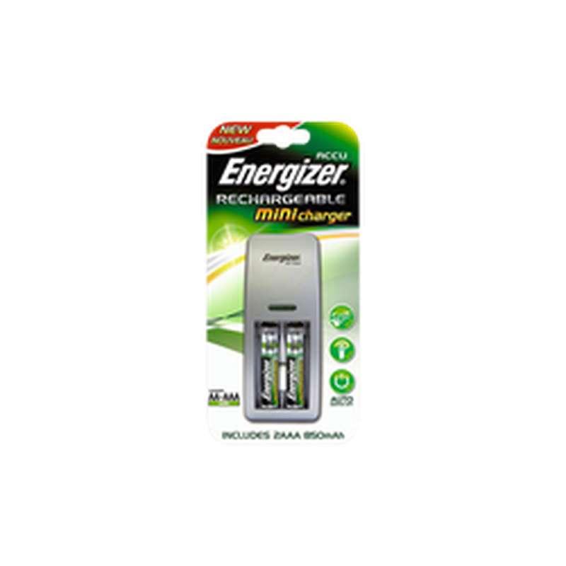 Chargeur miniature+ pour piles Lr03 AAA, Energizer (x2)