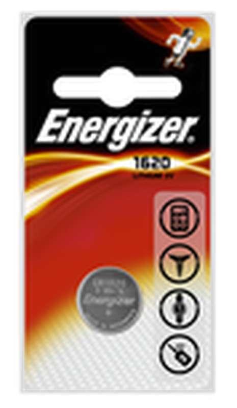 Pile miniature CR1620, Energizer (x 1)