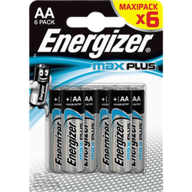 Piles AA/LR6 Max Plus, Energizer (x 6)