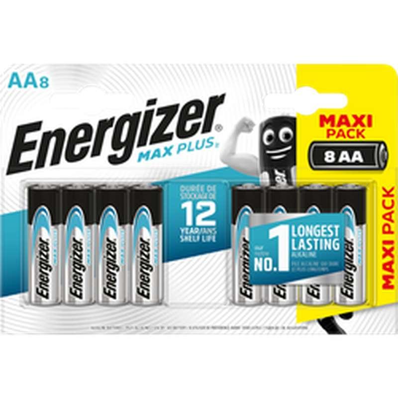 Pile Max Plus LR6/AA, Energizer (x 8)