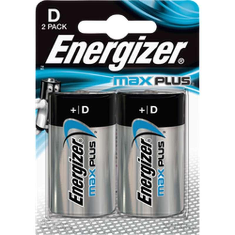 Pile Max Plus LR20/D, Energizer (x 2)