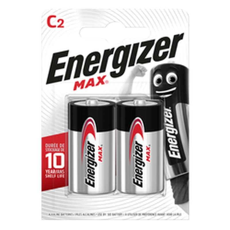 Piles LR14 C Max, Energizer (x 2)