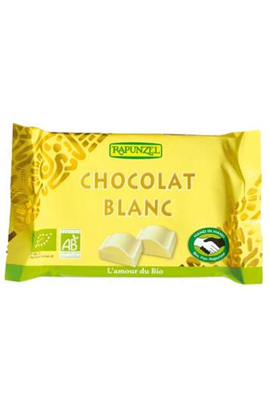Chocolat blanc BIO, Rapunzel (100 g)