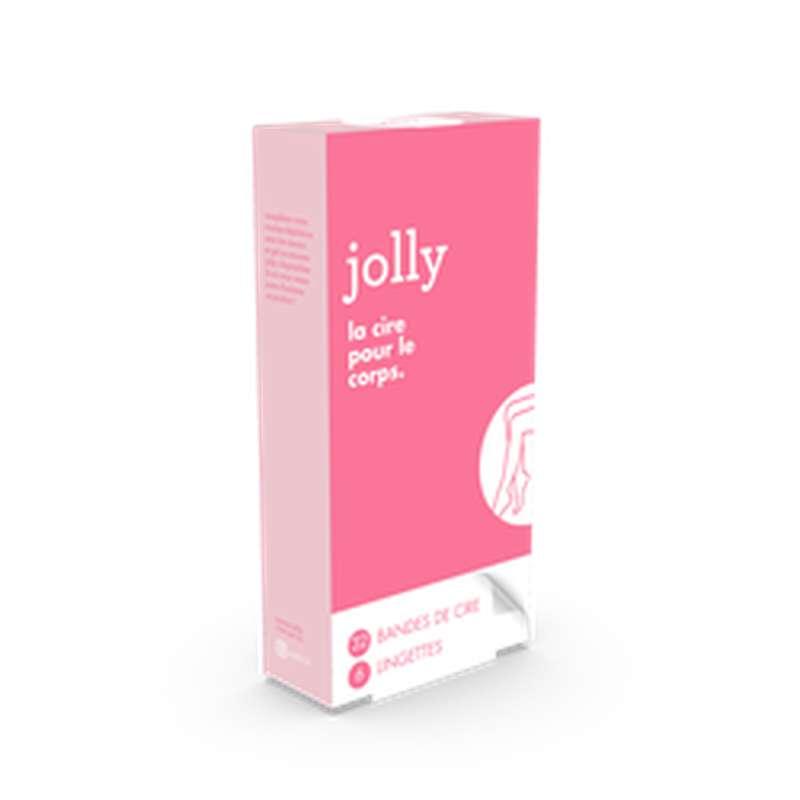 Bandes de cire pour le corps, Jolly (x 32)
