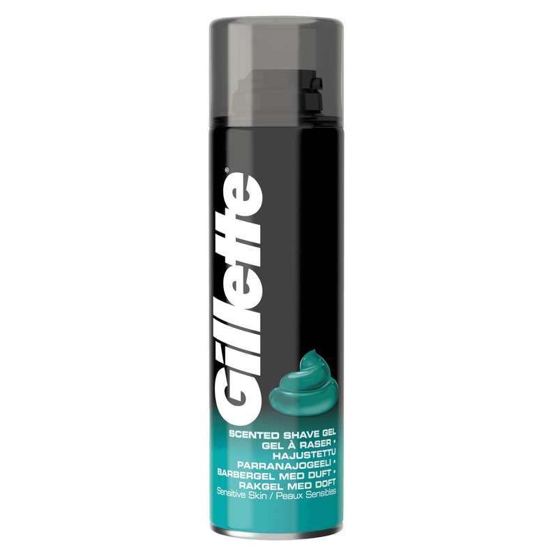 Gel à raser existing peau sensible, Gillette (200 ml)