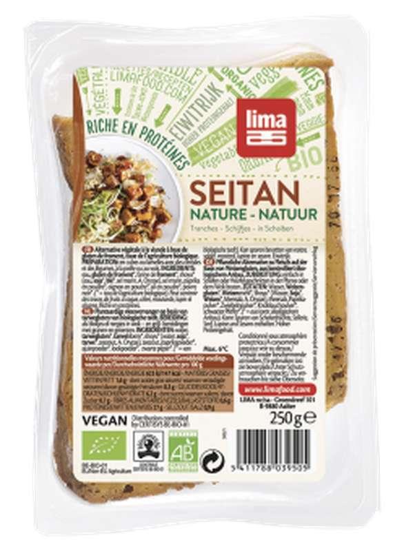 Seitan nature en tranches BIO, Lima Frais (250 g)