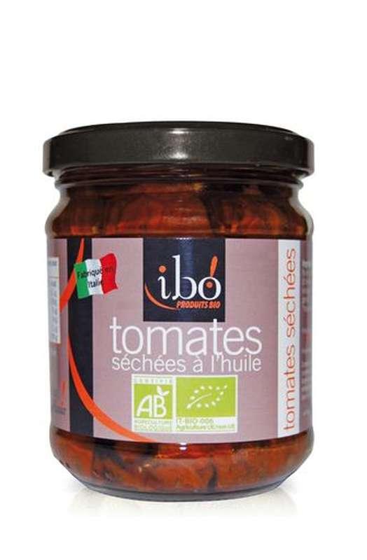Tomates séchées à l'huile BIO, Ibo (190 g)