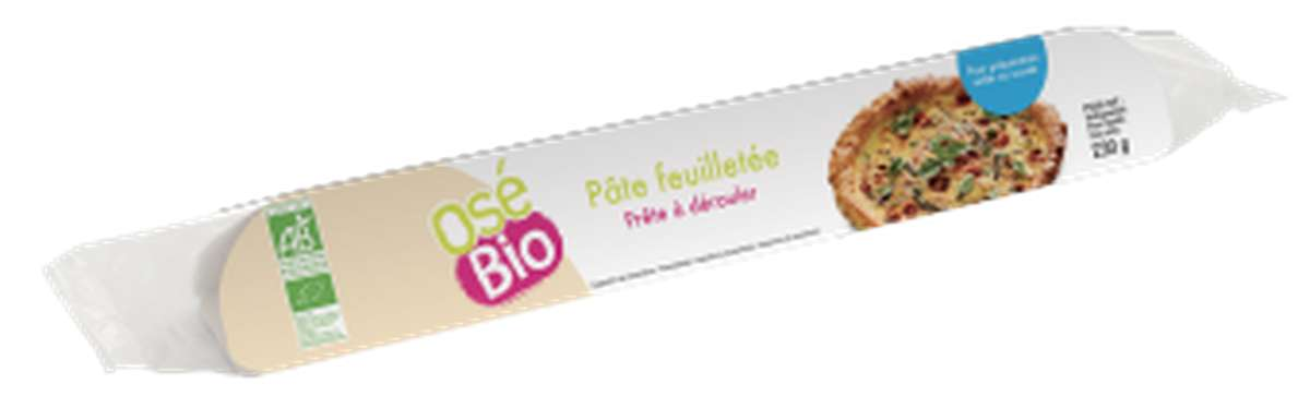 Pâte feuilletée BIO, Osé Bio (230 g)