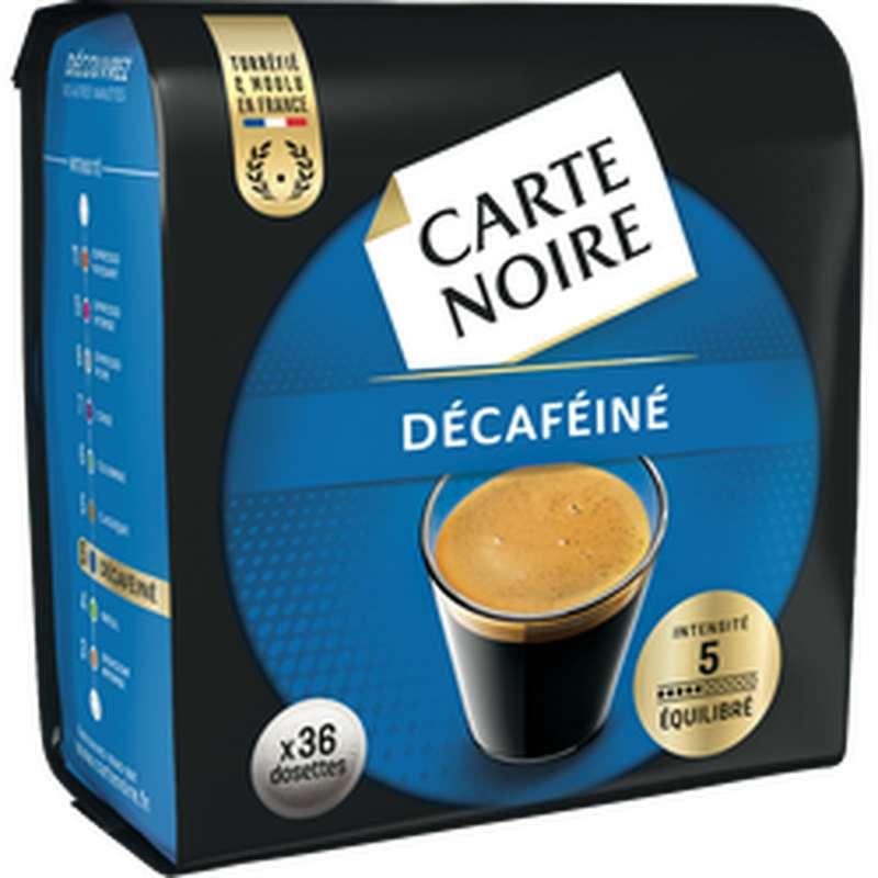 Café en dosettes décaféiné, Carte Noire(x 36, 250 g)