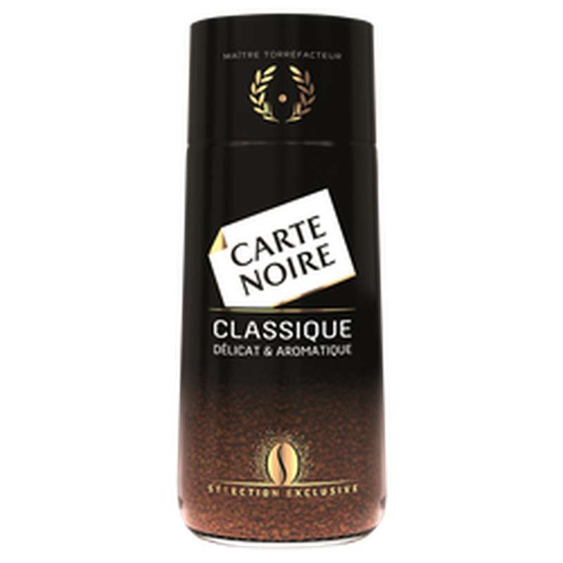 Café instantané classique, Carte Noire (100 g)