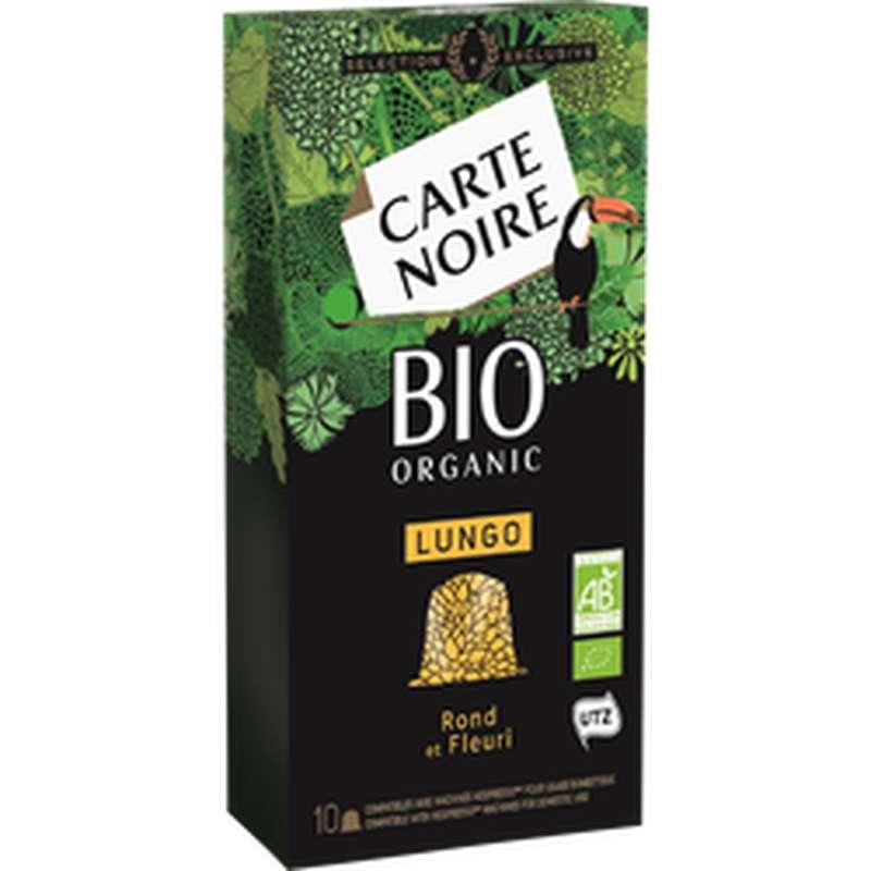 Café capsules BIO, Carte Noire (x 10)