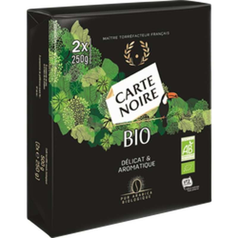 Café moulu standard bio, Carte Noire (2 x 250 g)