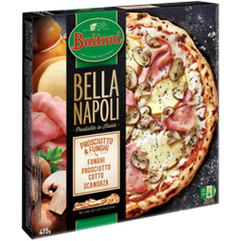 Pizza Bella Napoli Proscuitto funghi, Buitoni (415 g)