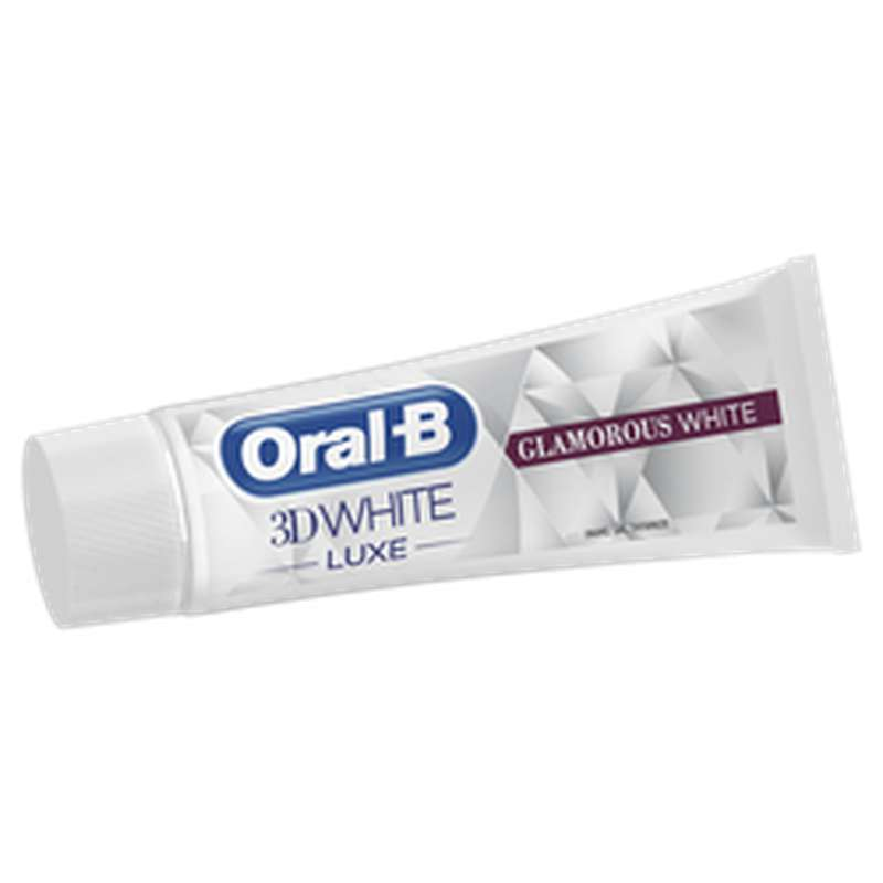 Dentifrice 3D white luxe blancheur, Oral B (75 ml)