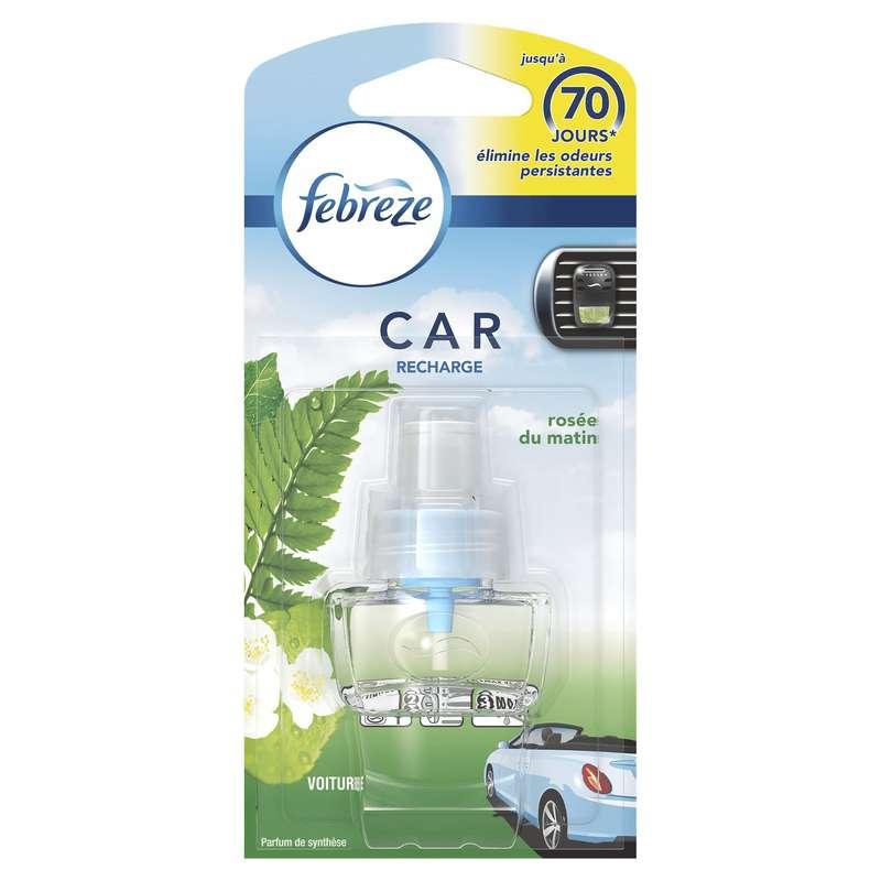 Désodorisant pour voiture rosée du matin, Febreze (7 ml)