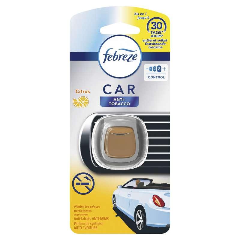 Désodorisant voiture anti-tabac agrumes, Febreze