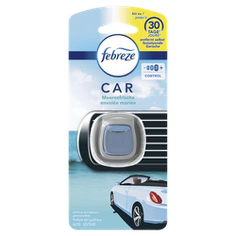 Désodorisant diffuseur pour voiture parfum envolée marine, Febreze