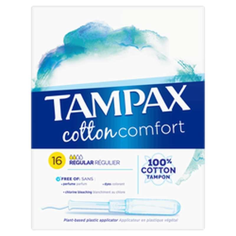 Tampon cotton comfort Regular, Tampax (x 16)