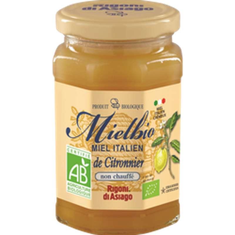 Miel Italien crémeux de citronnier BIO, Rigoni di Asiago (300 g)