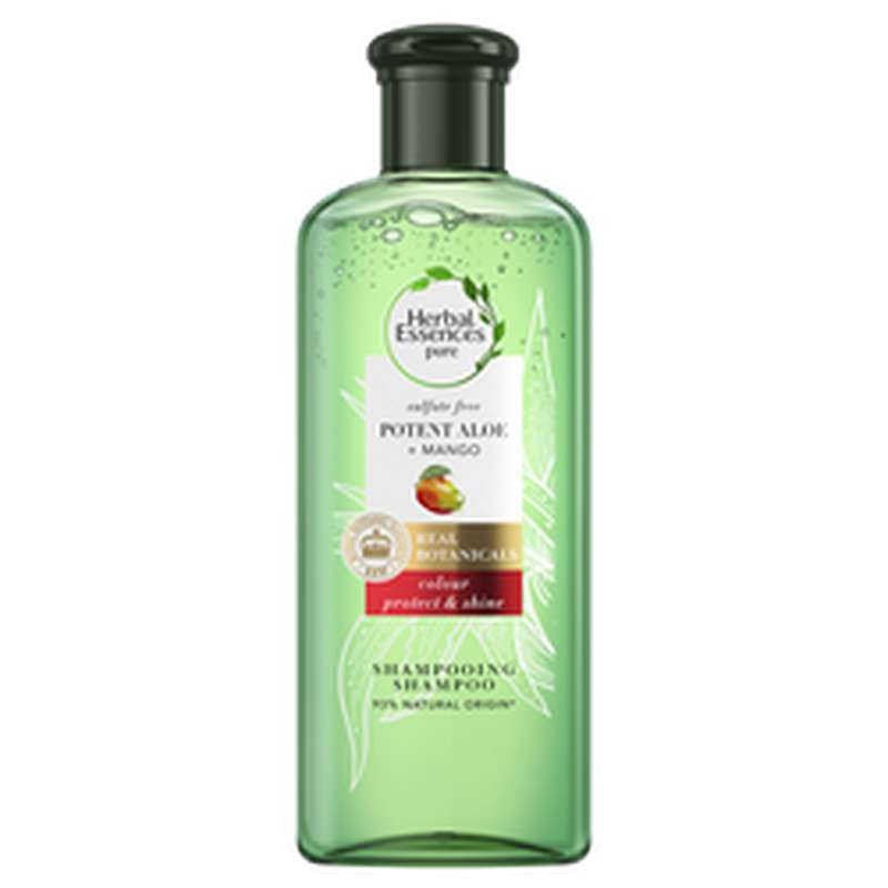 Shampoing aloe et mangue, Herbal Essences (225 ml)