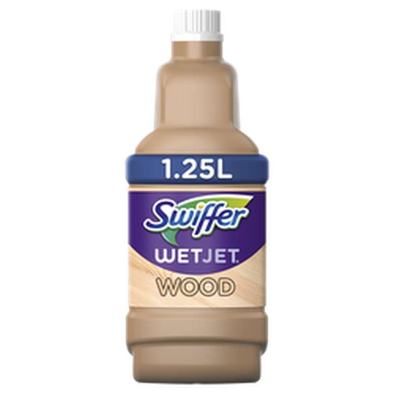 Recharge liquide WetJet Wood spécial bois fini, Swiffer (1.25 L)