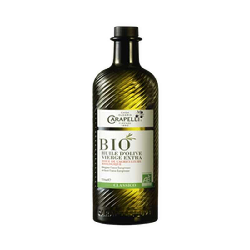 Huile d'olive vierge extra Classico BIO, Carapelli (75 cl)