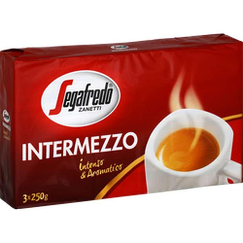Café moulu intermezzo, Segafredo (3 x 250 g)