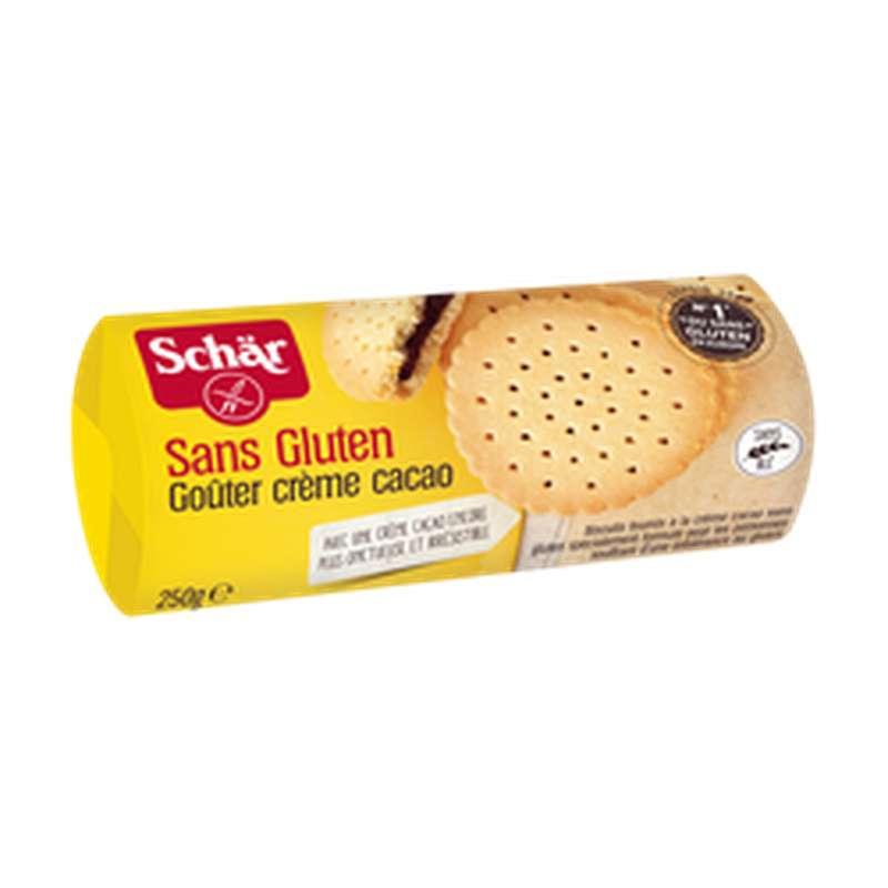 Biscuits goûter à la crème de cacao sans gluten, Schar (250 g)