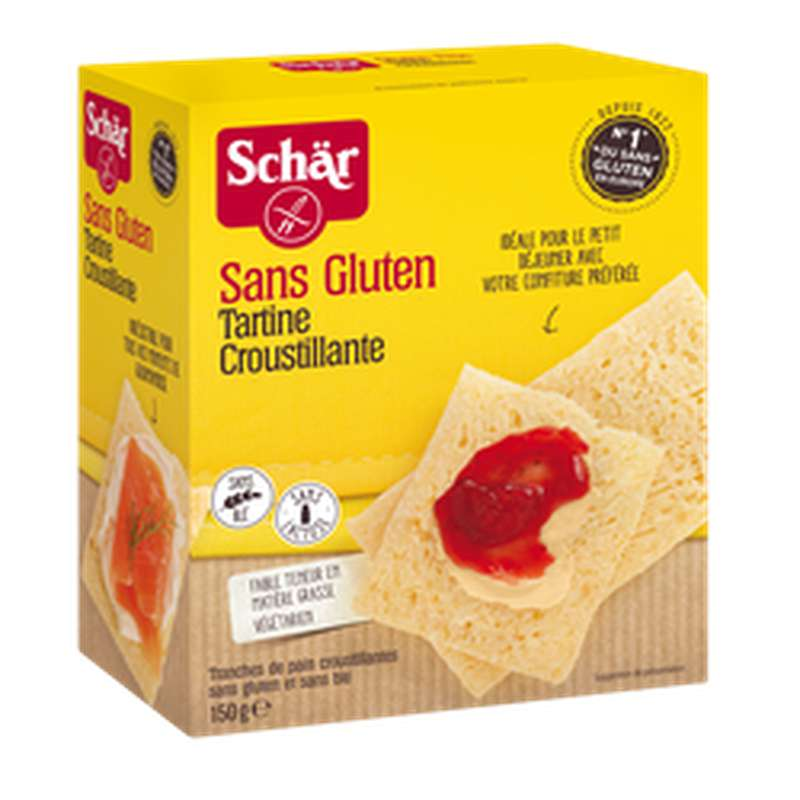 Tartine croustillante sans gluten, Schar (150 g)
