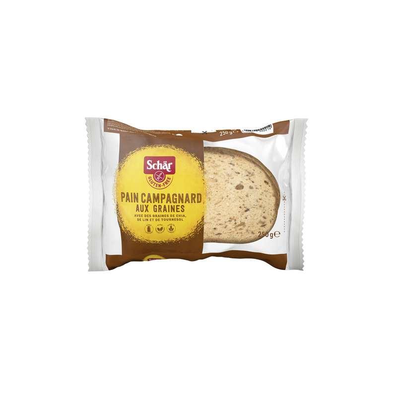 Pain campagnard sans gluten, Schar (250 g)