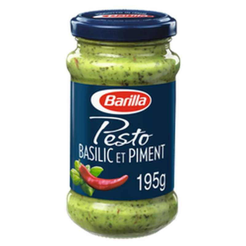 Pesto basilic et piment, Barilla (195 g)