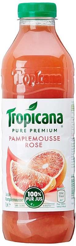 Jus de pamplemousse rose, Tropicana (1 L)