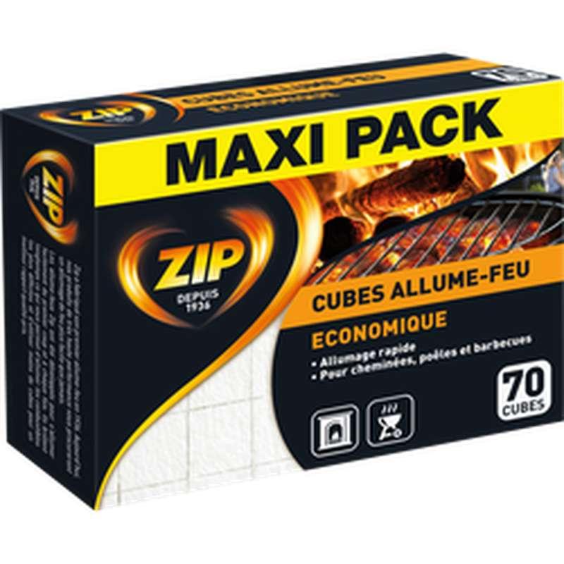 Allume-feu économique Maxi Pack, Zip (x 70 cubes)