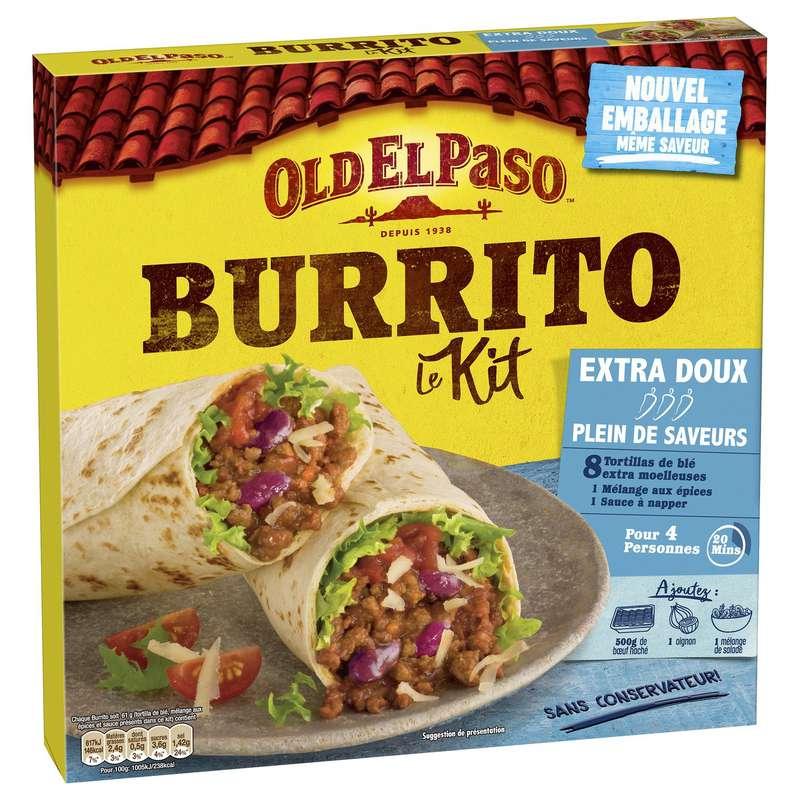 Kit pour Burritos sans piment, Old El Passo (491 g)