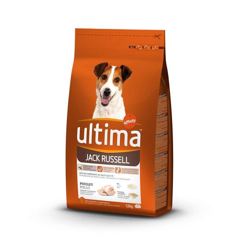 Croquettes pour chiens Jack Russell, Ultima (1,5 kg)