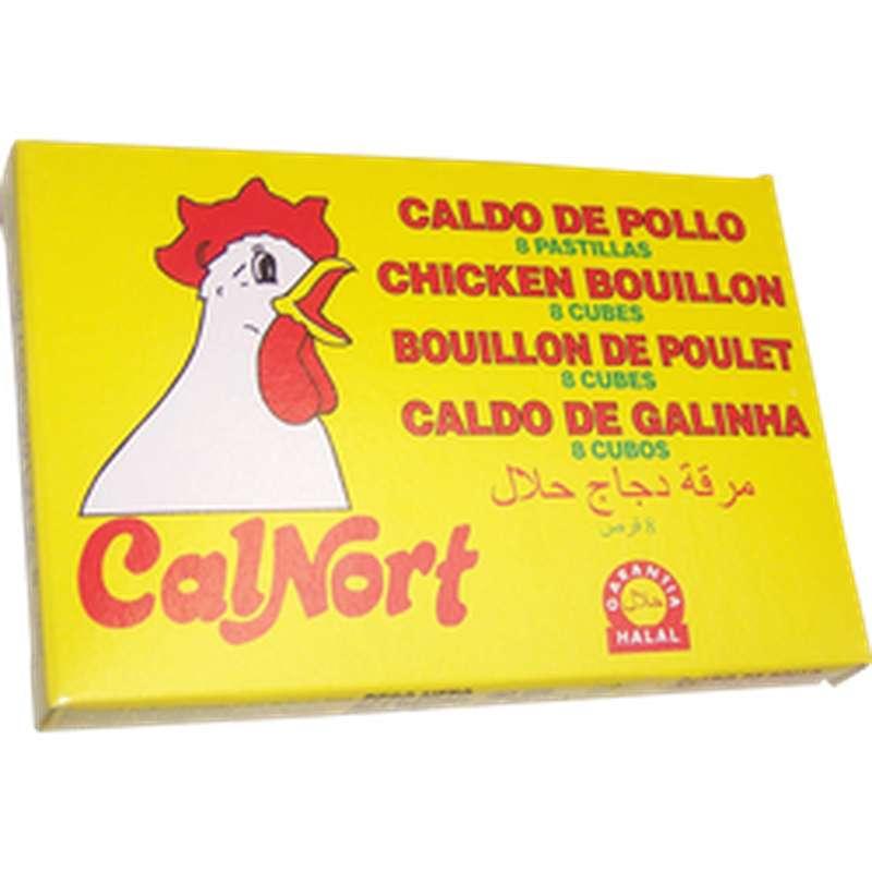 Bouillon de poulet Halal, Calnort (80 g)