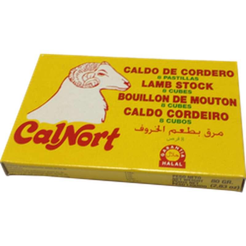 Bouillon de mouton Halal, Calnort (x8, 80 g)