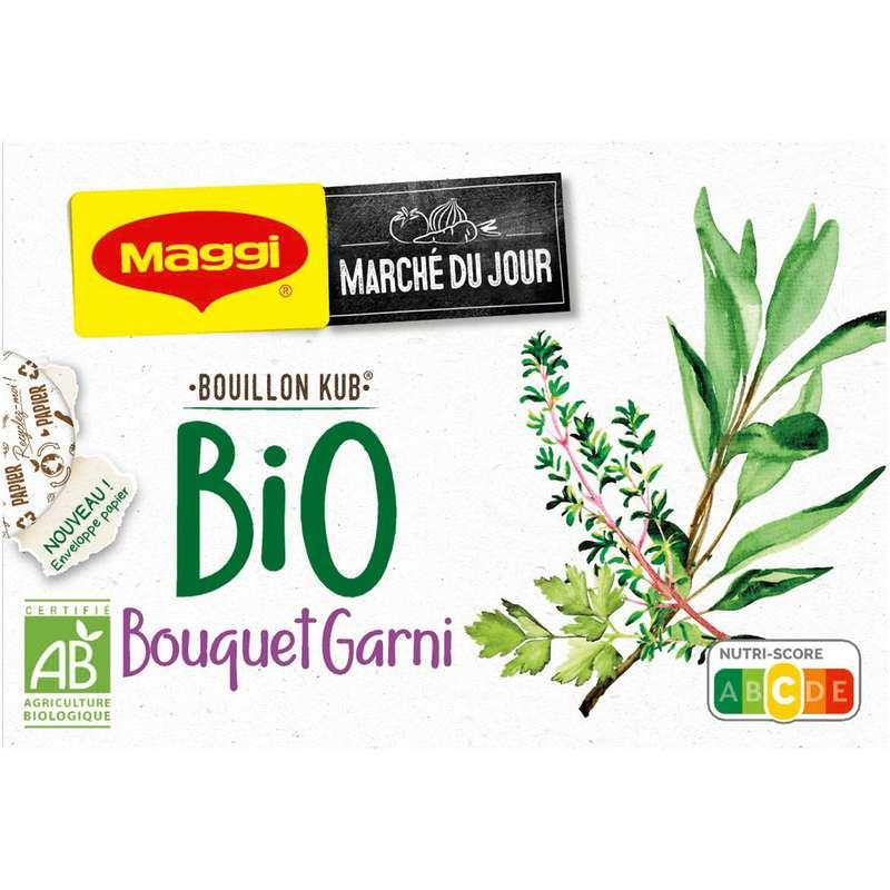 Bouillon bouquet garni BIO, Maggi (x 8, 80 g)