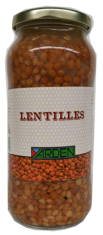 Lentilles cuisinées, Yarden (400 g)