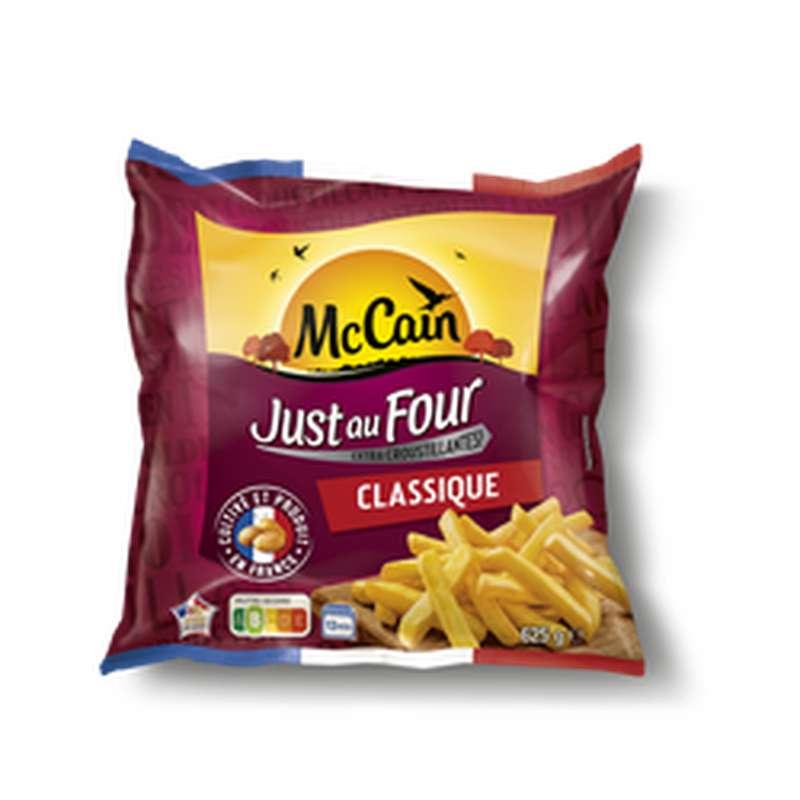 Frites Just au Four Classique, Mc Cain (625 g)