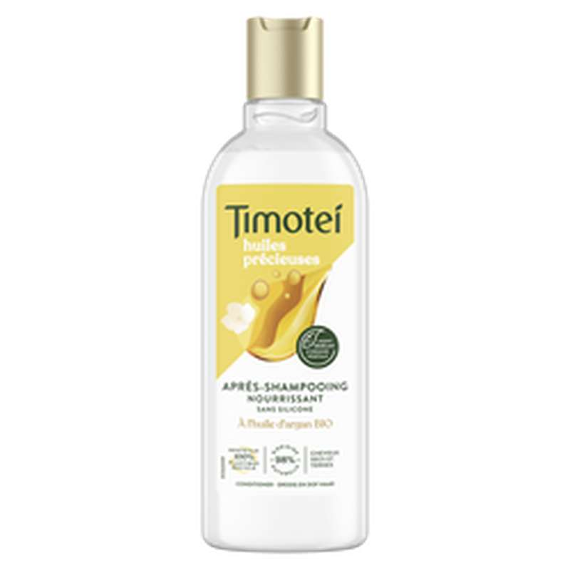Après-shampoing argan & jasmin nourrissant, Timotei (300 ml)